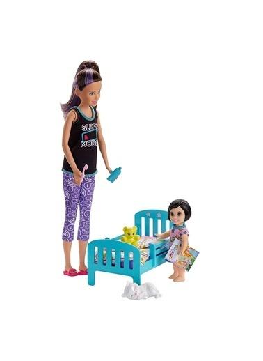 Barbie Bebek Bakıcılığı Oyun Seti FHY97-GVH88 Renkli